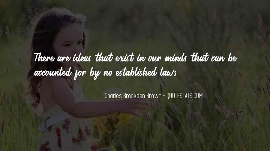 Charles Brockden Brown Quotes #846790