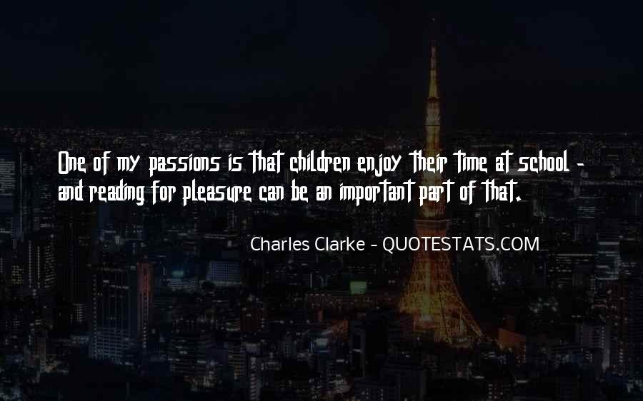 Charles Clarke Quotes #1208587