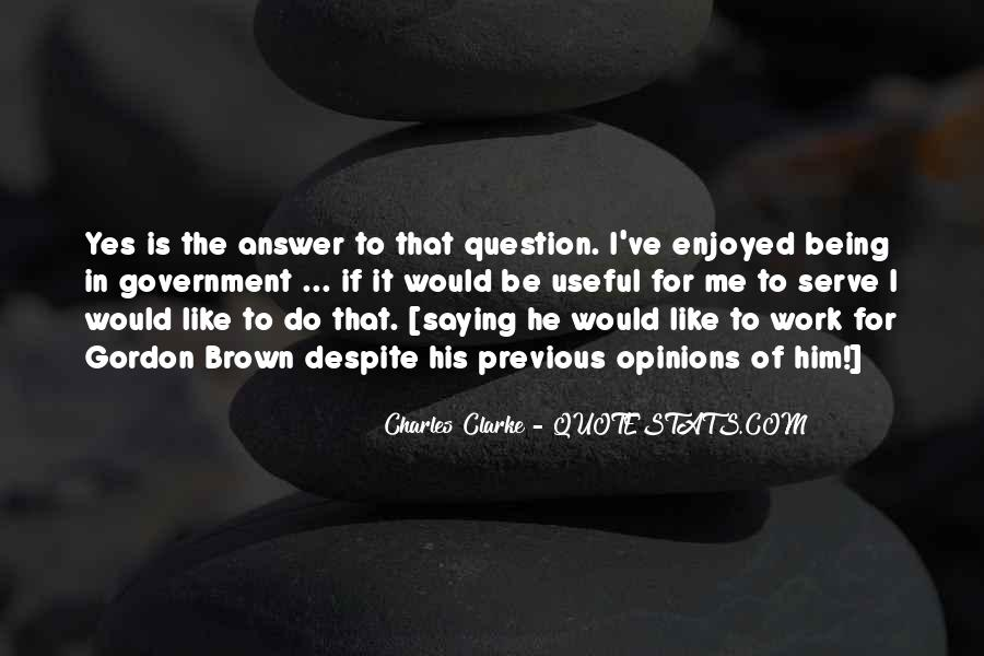 Charles Clarke Quotes #1259391