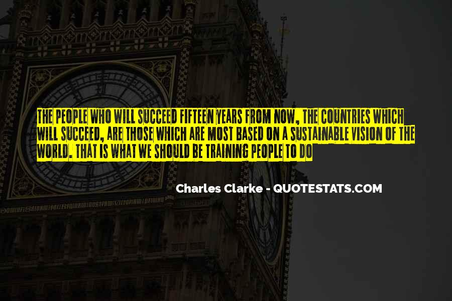 Charles Clarke Quotes #1344088