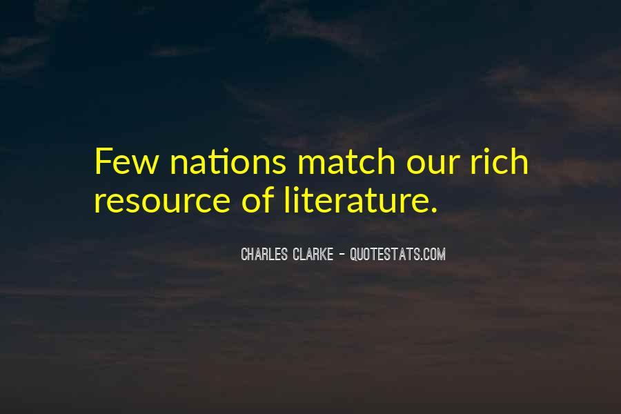 Charles Clarke Quotes #1613000