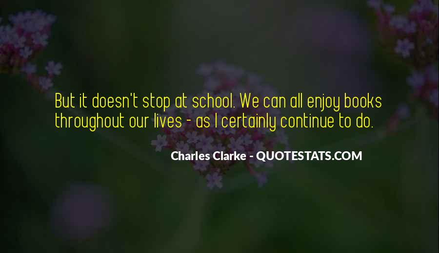 Charles Clarke Quotes #701124