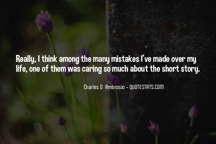 Charles D'Ambrosio Quotes #243944