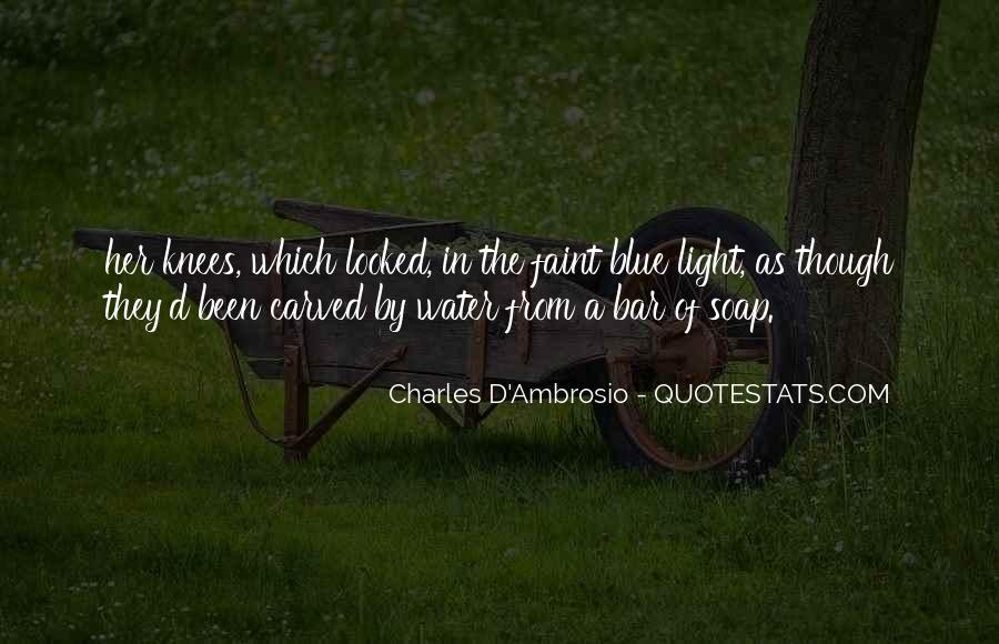 Charles D'Ambrosio Quotes #258462