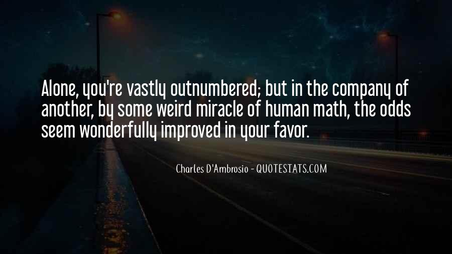 Charles D'Ambrosio Quotes #801342