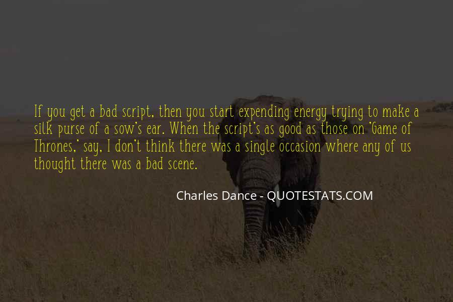 Charles Dance Quotes #224736