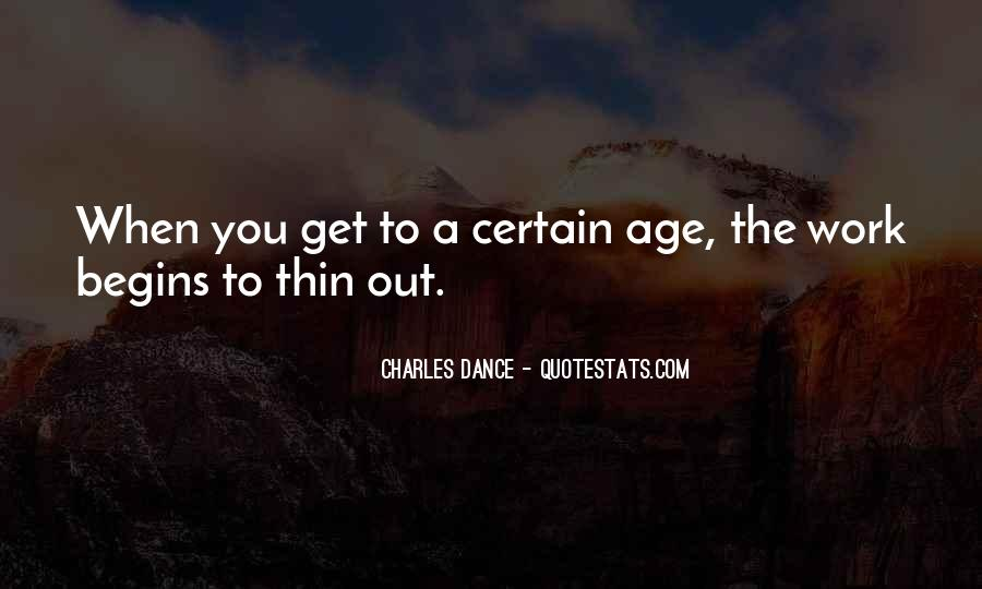 Charles Dance Quotes #248669