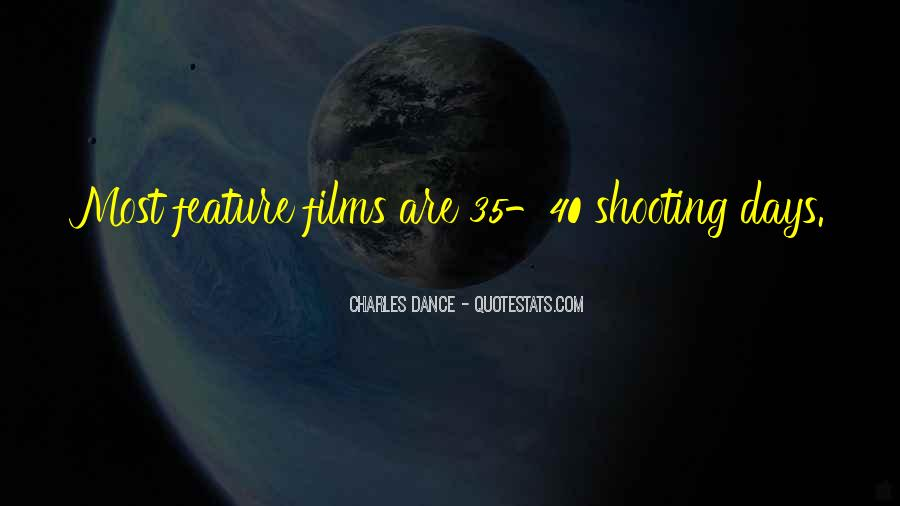 Charles Dance Quotes #939102