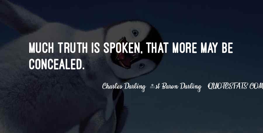 Charles Darling, 1st Baron Darling Quotes #1551494