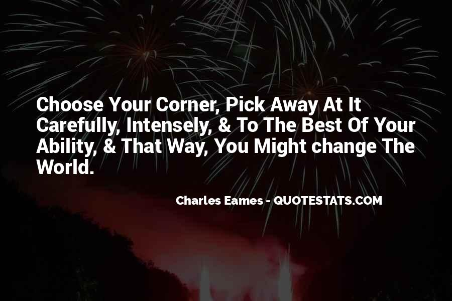 Charles Eames Quotes #506647
