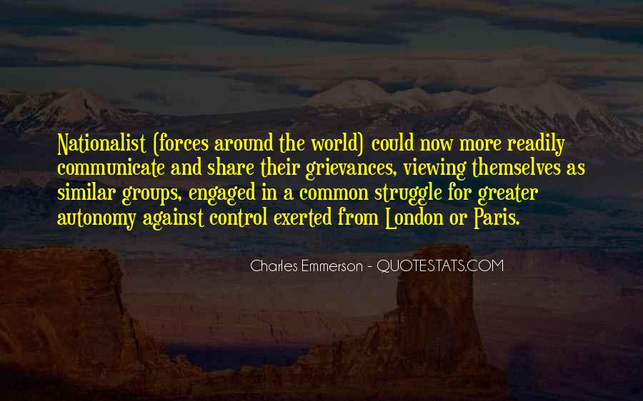 Charles Emmerson Quotes #1520263