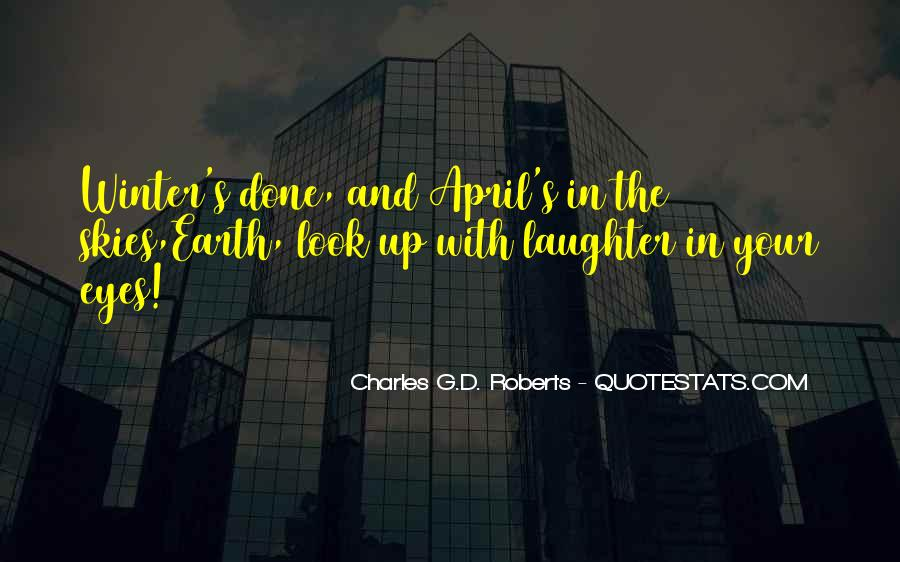 Charles G.D. Roberts Quotes #370921