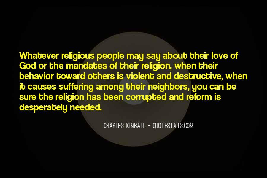 Charles Kimball Quotes #1181506