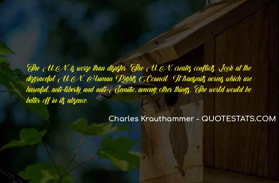 Charles Krauthammer Quotes #135067
