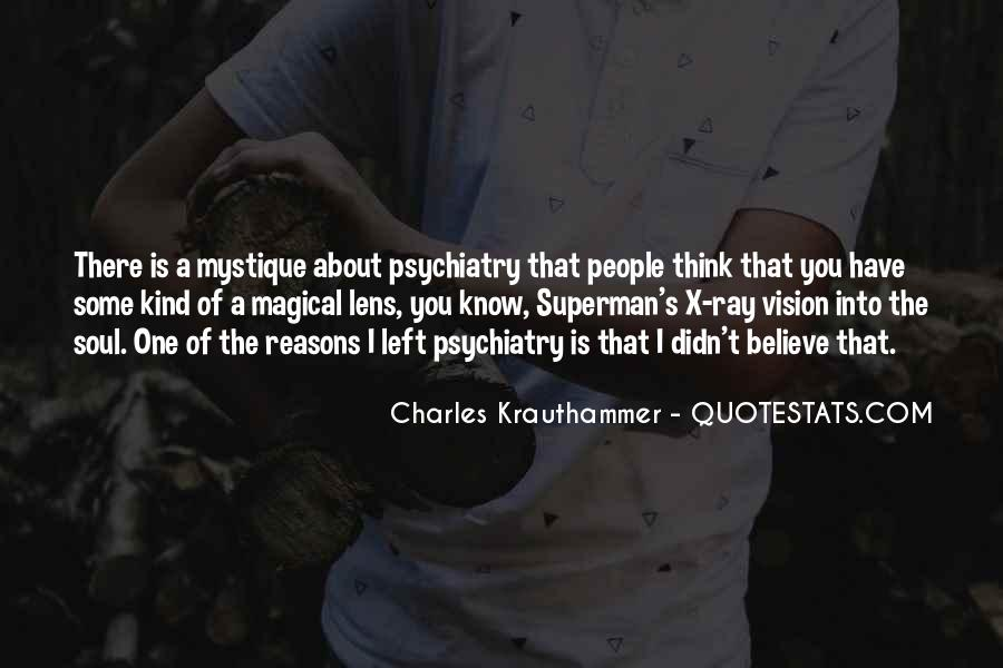 Charles Krauthammer Quotes #1774076