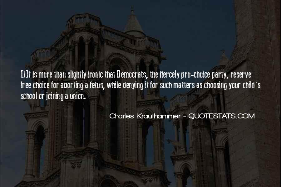Charles Krauthammer Quotes #1847650