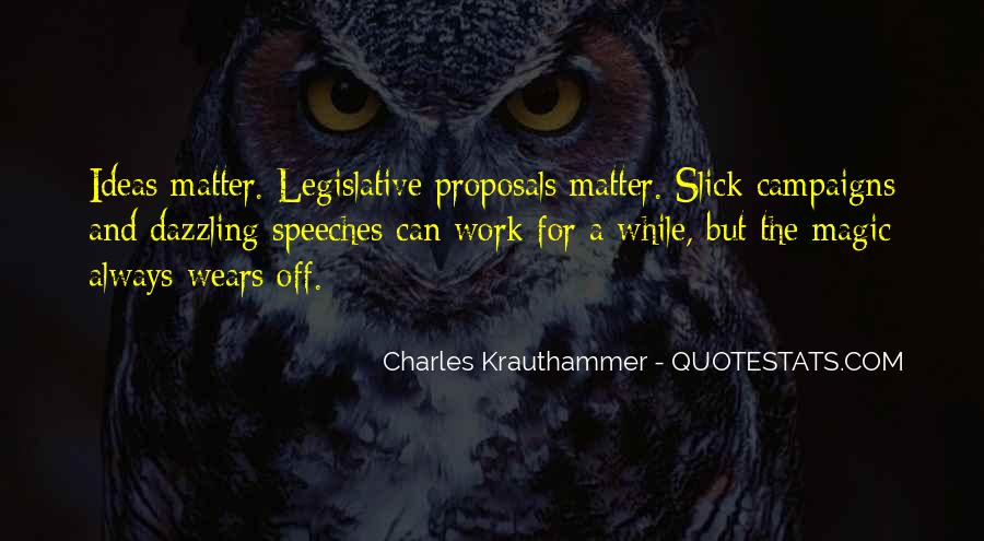 Charles Krauthammer Quotes #326377