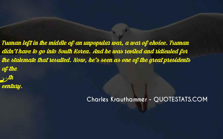 Charles Krauthammer Quotes #373907