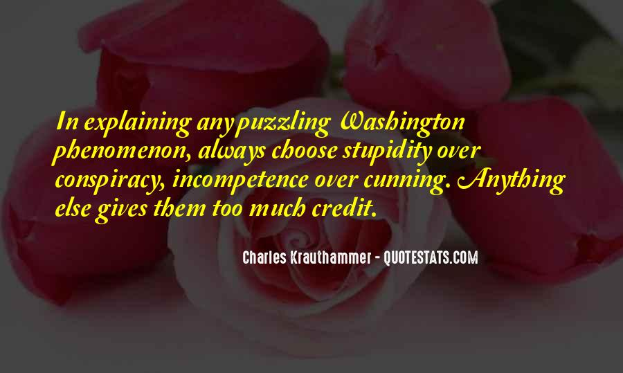 Charles Krauthammer Quotes #399319