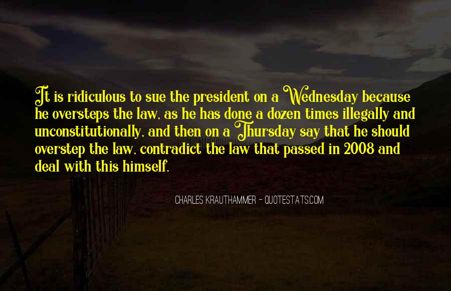Charles Krauthammer Quotes #498383