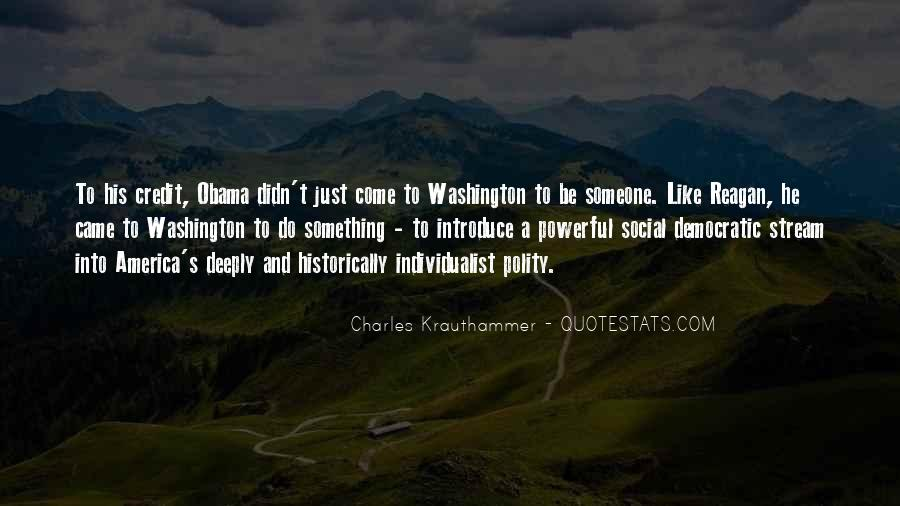 Charles Krauthammer Quotes #562158