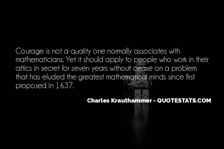 Charles Krauthammer Quotes #638566