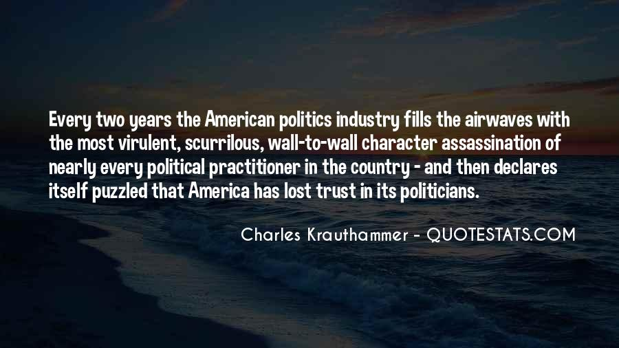 Charles Krauthammer Quotes #660730