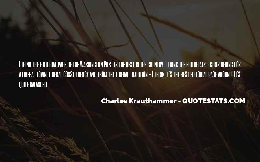 Charles Krauthammer Quotes #834542