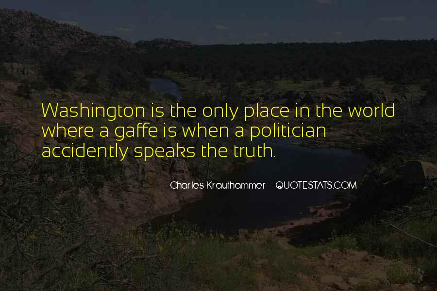 Charles Krauthammer Quotes #856277