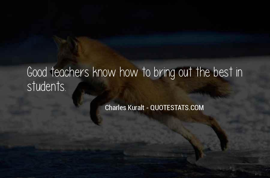 Charles Kuralt Quotes #1266803