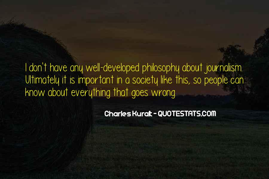 Charles Kuralt Quotes #1394256