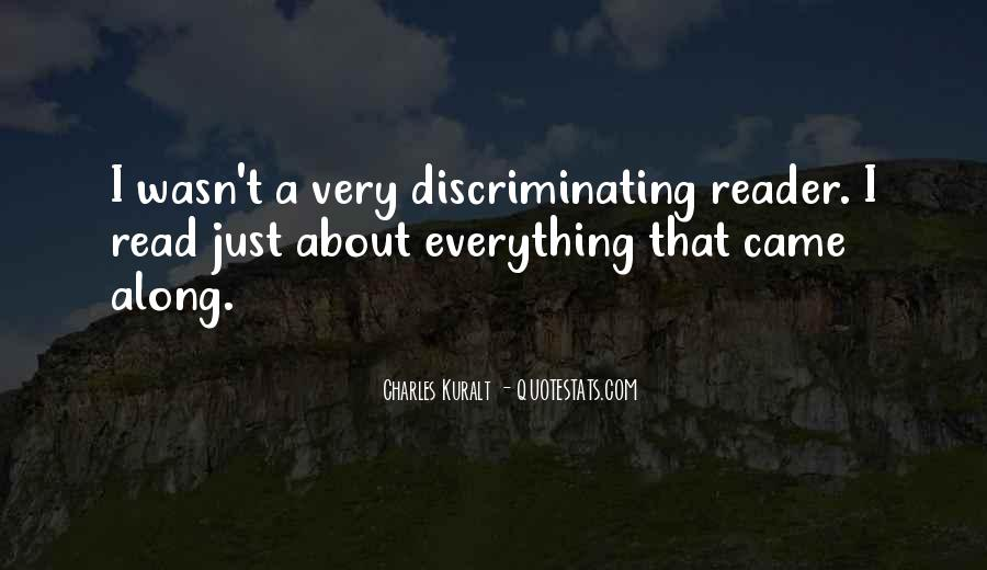 Charles Kuralt Quotes #1866421