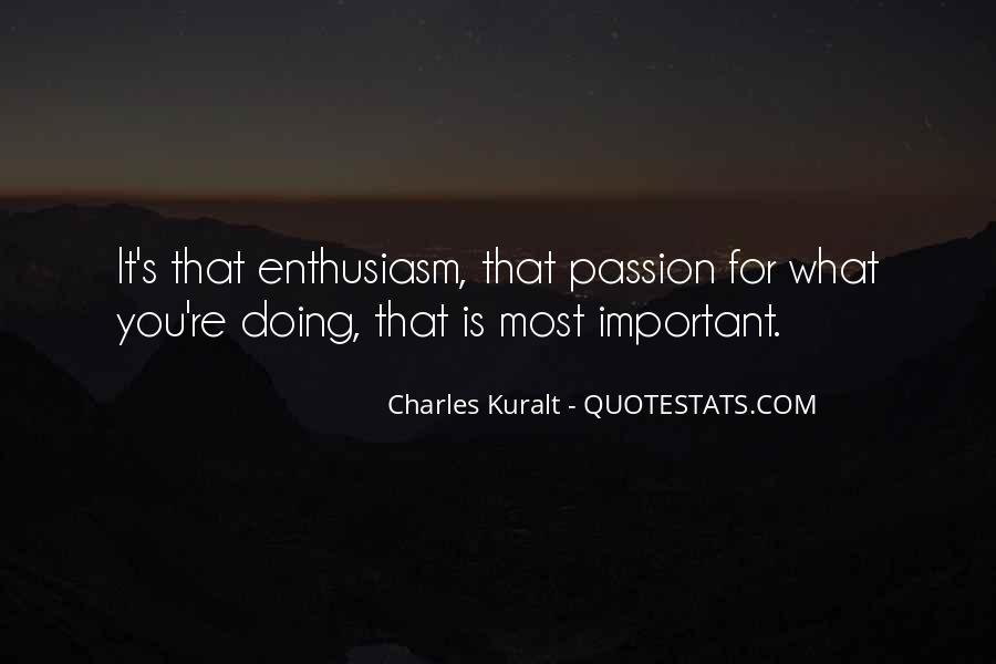 Charles Kuralt Quotes #263669