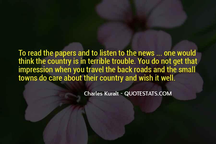 Charles Kuralt Quotes #595820