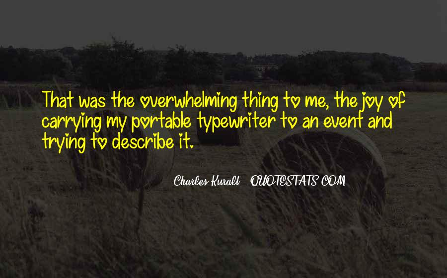 Charles Kuralt Quotes #618998