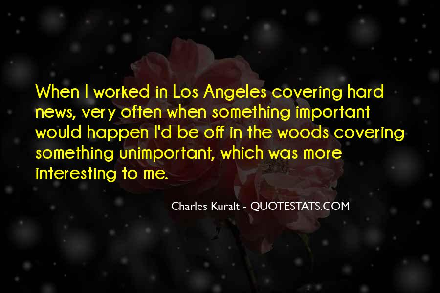 Charles Kuralt Quotes #847450