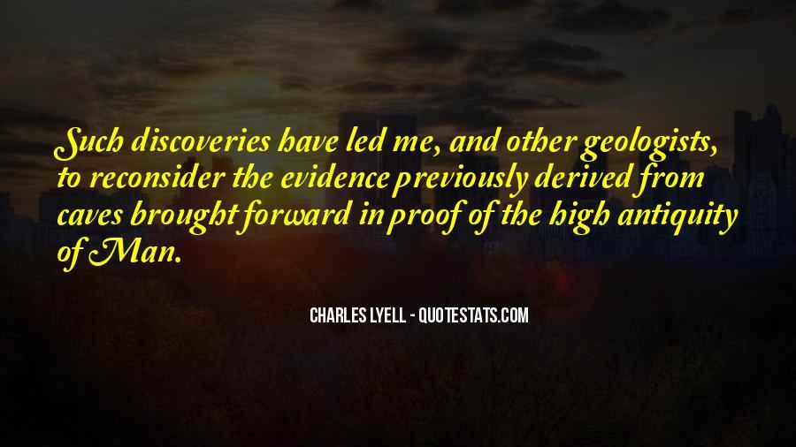 Charles Lyell Quotes #1176851