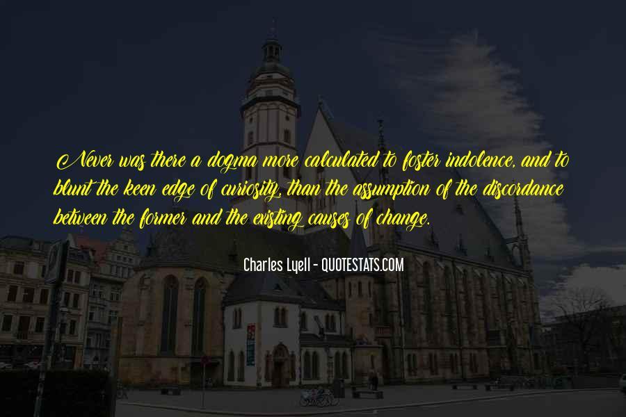 Charles Lyell Quotes #1634933