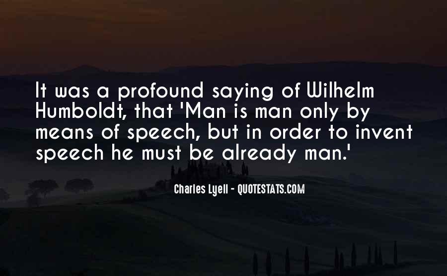Charles Lyell Quotes #247844