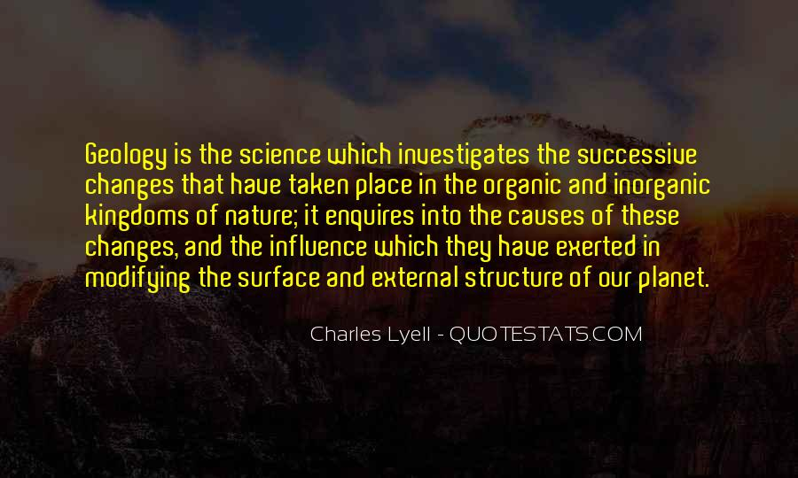 Charles Lyell Quotes #312793