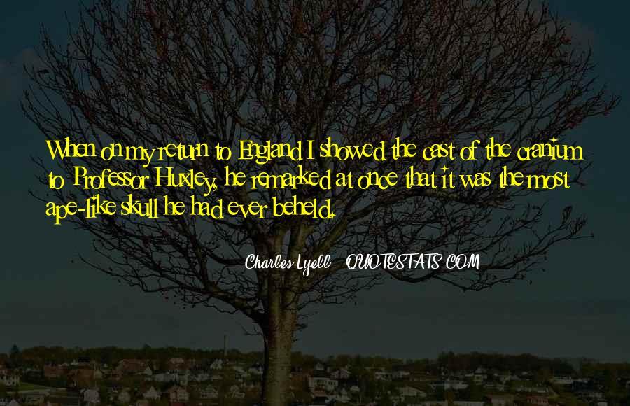 Charles Lyell Quotes #642357
