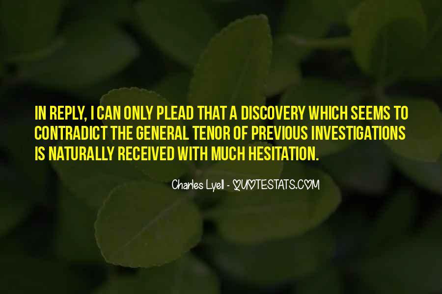 Charles Lyell Quotes #943001