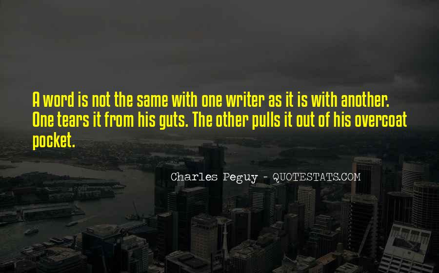 Charles Peguy Quotes #557229