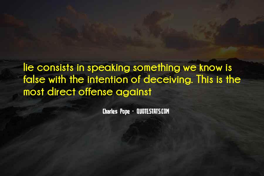 Charles Pope Quotes #802647