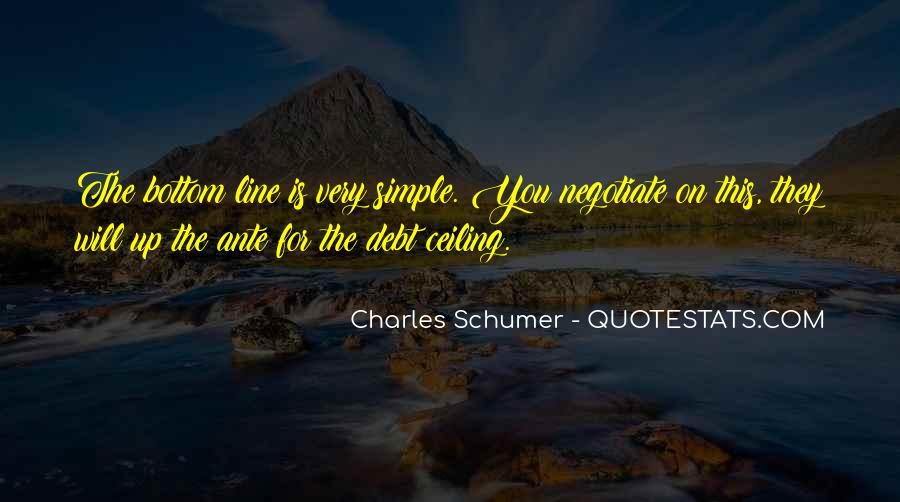 Charles Schumer Quotes #216213