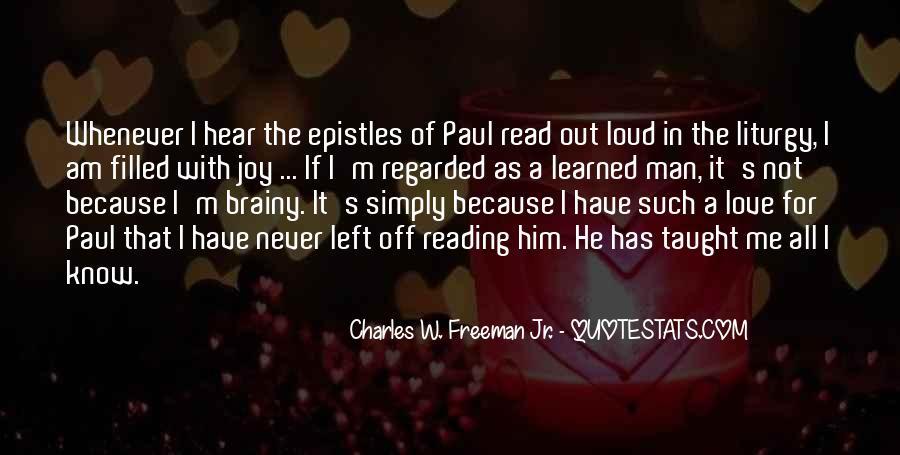 Charles W. Freeman Jr. Quotes #1314228