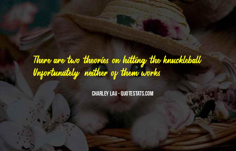 Charley Lau Quotes #39841