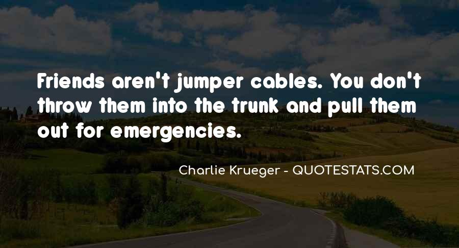 Charlie Krueger Quotes #911111