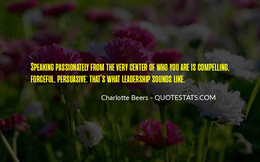 Charlotte Beers Quotes #559206