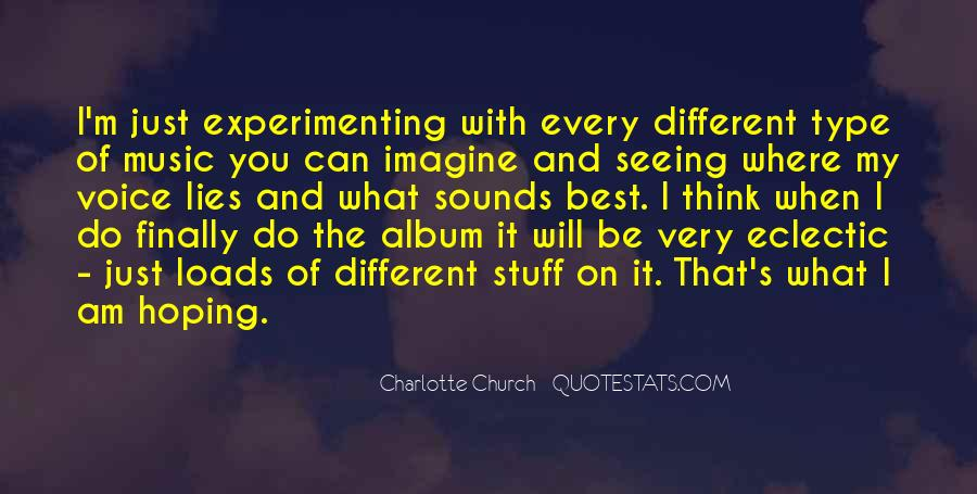 Charlotte Church Quotes #1522554